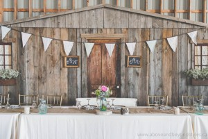 Rustic Barnboard Backdrop