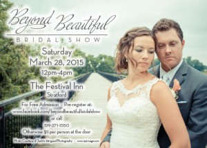 Beyond Beautiful Bridal Show Postcard