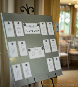 event co-ordination seating chart